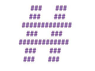 hashtag mania